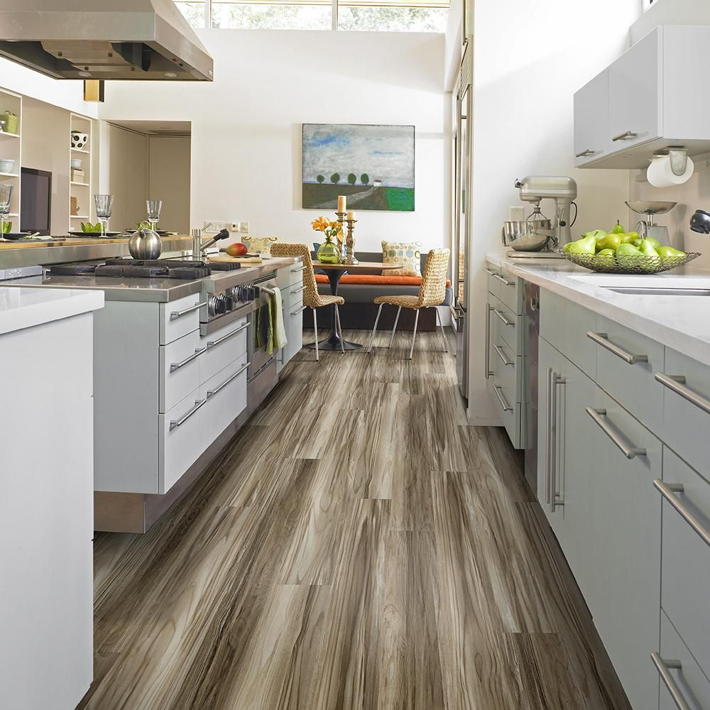 Waterproof Laminate Flooring For Kitchens Mojave 6 In X 48 In Palmdale Repel Waterproof Vinyl Plank