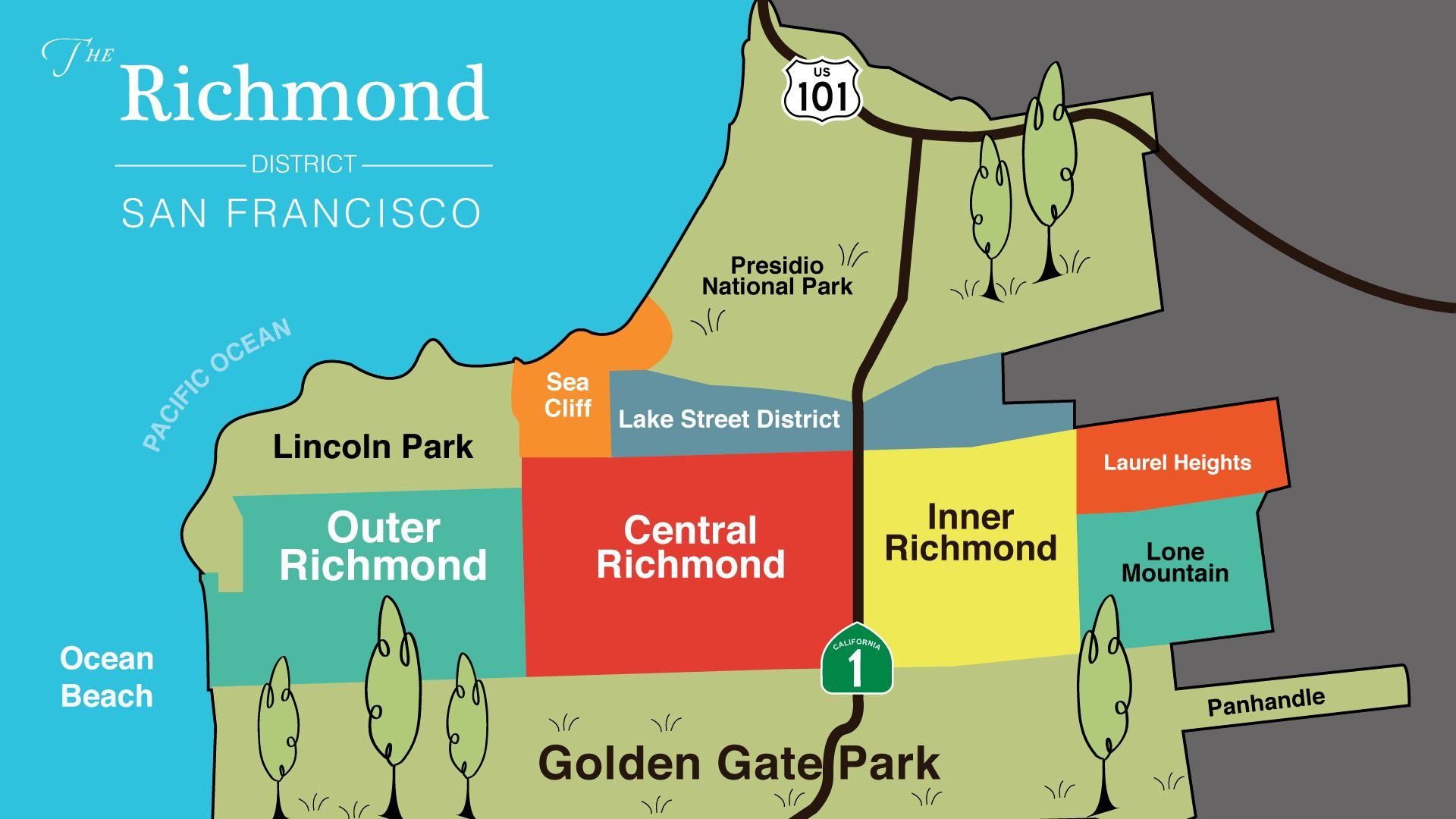 Explore the Richmond Districts unique architectural buildings