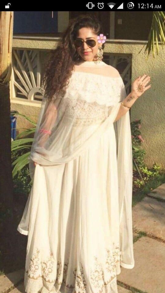 fcfe1efc84 Off shoulder indian suit | Indian attire | Indian suits, Indian ...