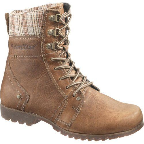 Caterpillar MADELYN Classic Lace Up Women's Work Boots. Pretty much the style of boot I'm looking for. Practical, warm (hopefully), and a nice shape.