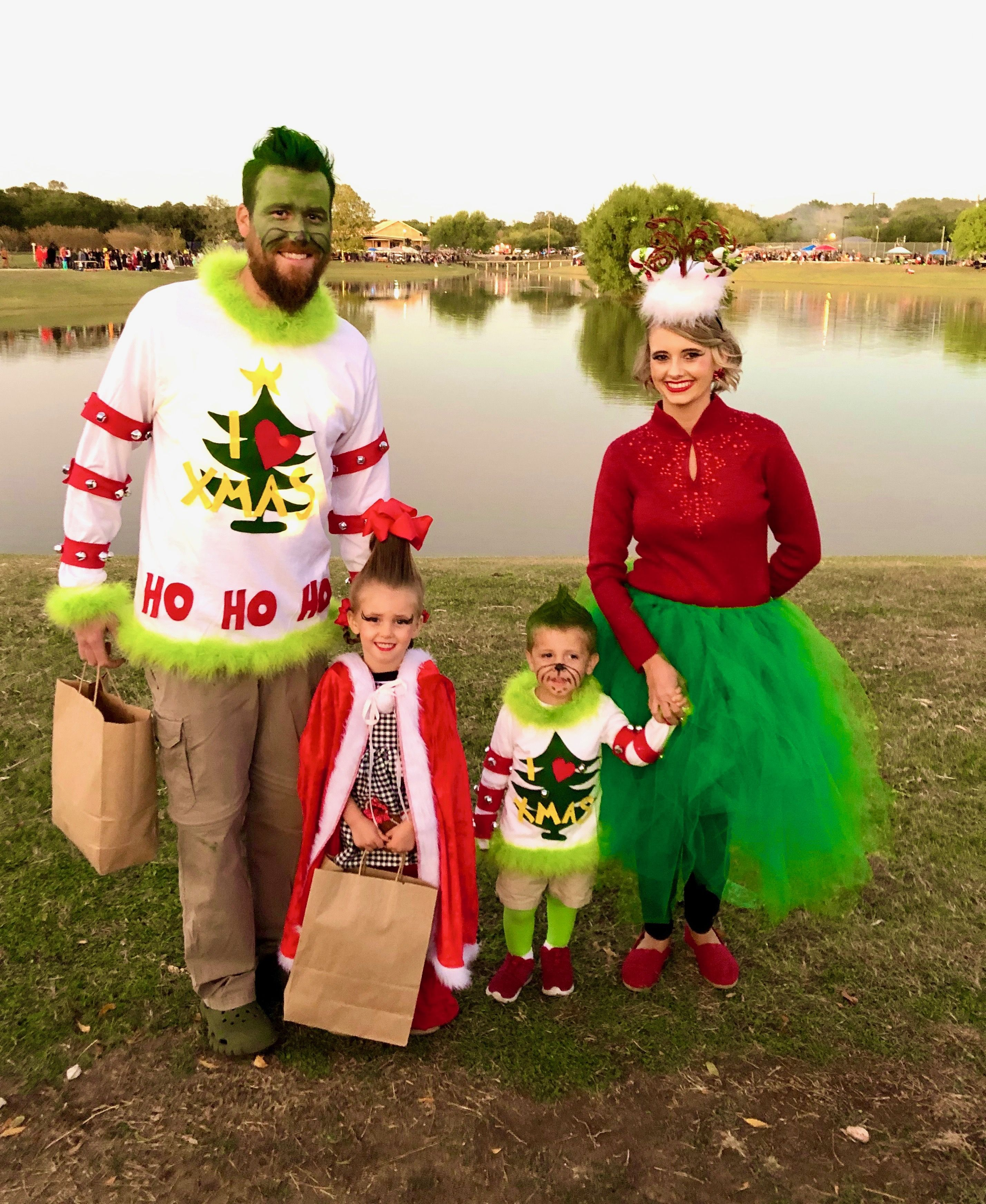 Family Grinch Costume grinch grinchchristmas halloween