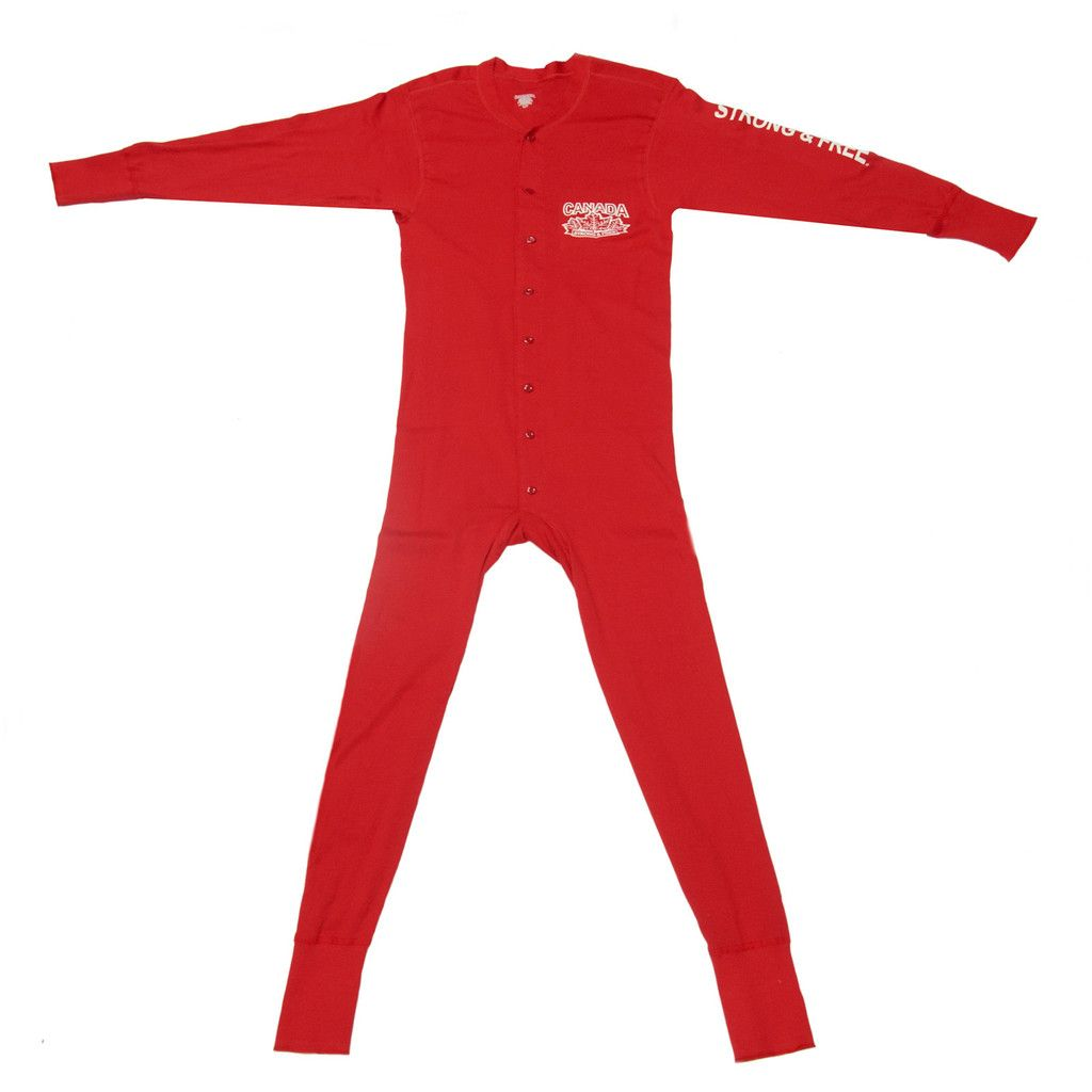 Stanfield's Strong and Free Adult Onesie Medium by Canada Strong ...