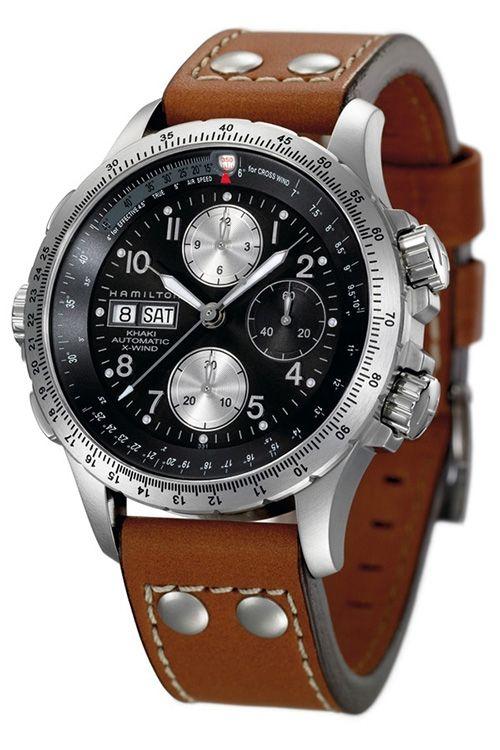 Hamilton Khaki X Wind Automatic Watch Watches Pinterest Montre