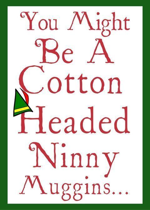 Christmas - Ninny Muggins