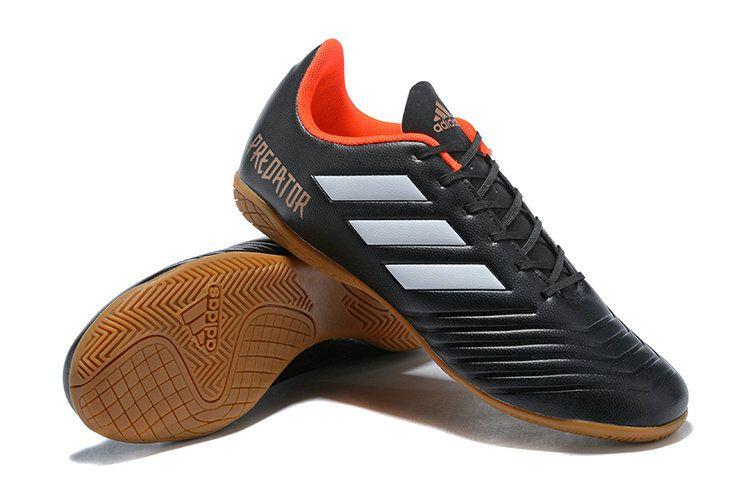9b29de2d7b4e New Adidas Predator Tango 18 4 IN 2018 Word Cup Mens Football Boots Core  Black White Orange Brown