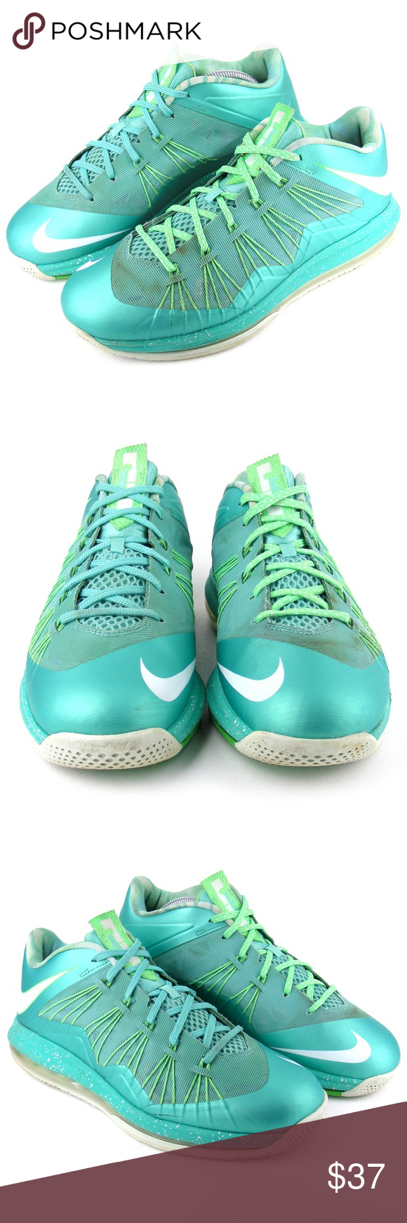 new concept 873f0 2dae7 Nike LeBron X Low Easter 579765-300 Sneakers 9.5 Nike LeBron X Low Easter  579765