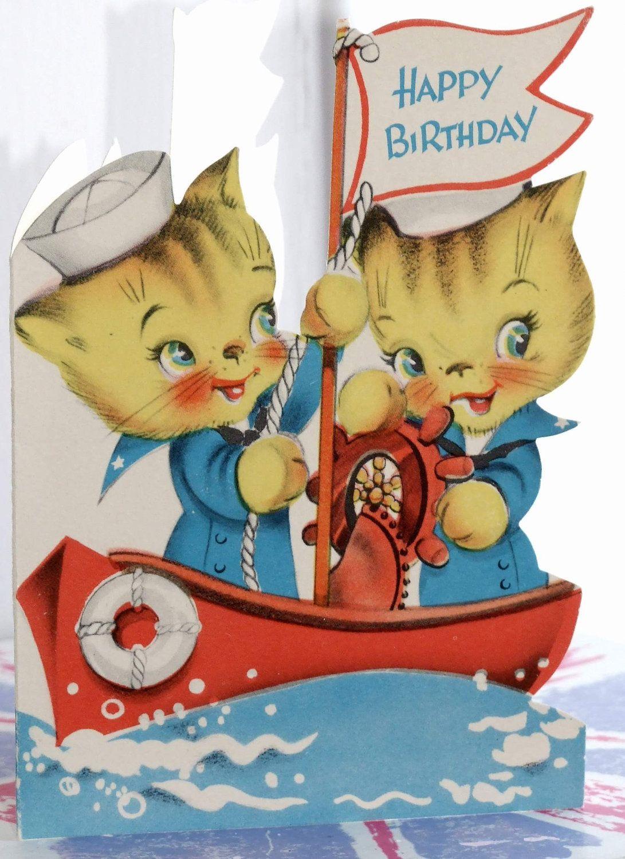Happy Birthday Mom – Vintage Birthday Cards