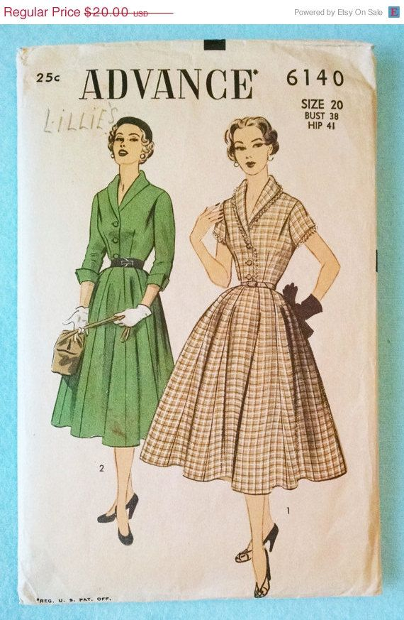 Pin On 1950s Vintage Sewing Patterns