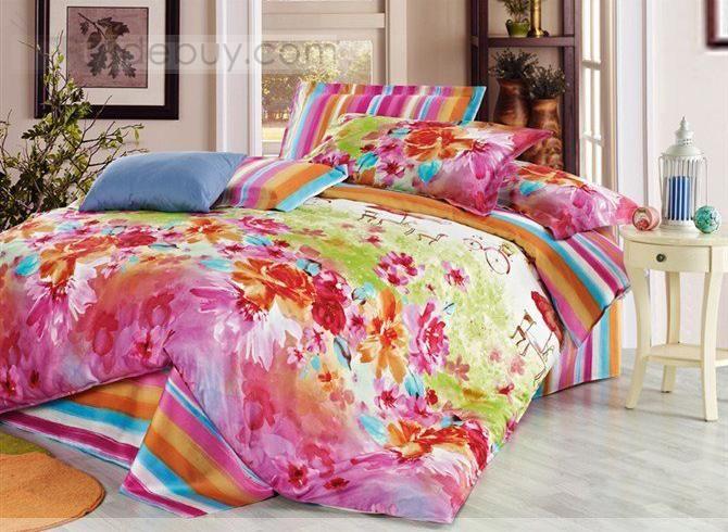 edredones coloridos