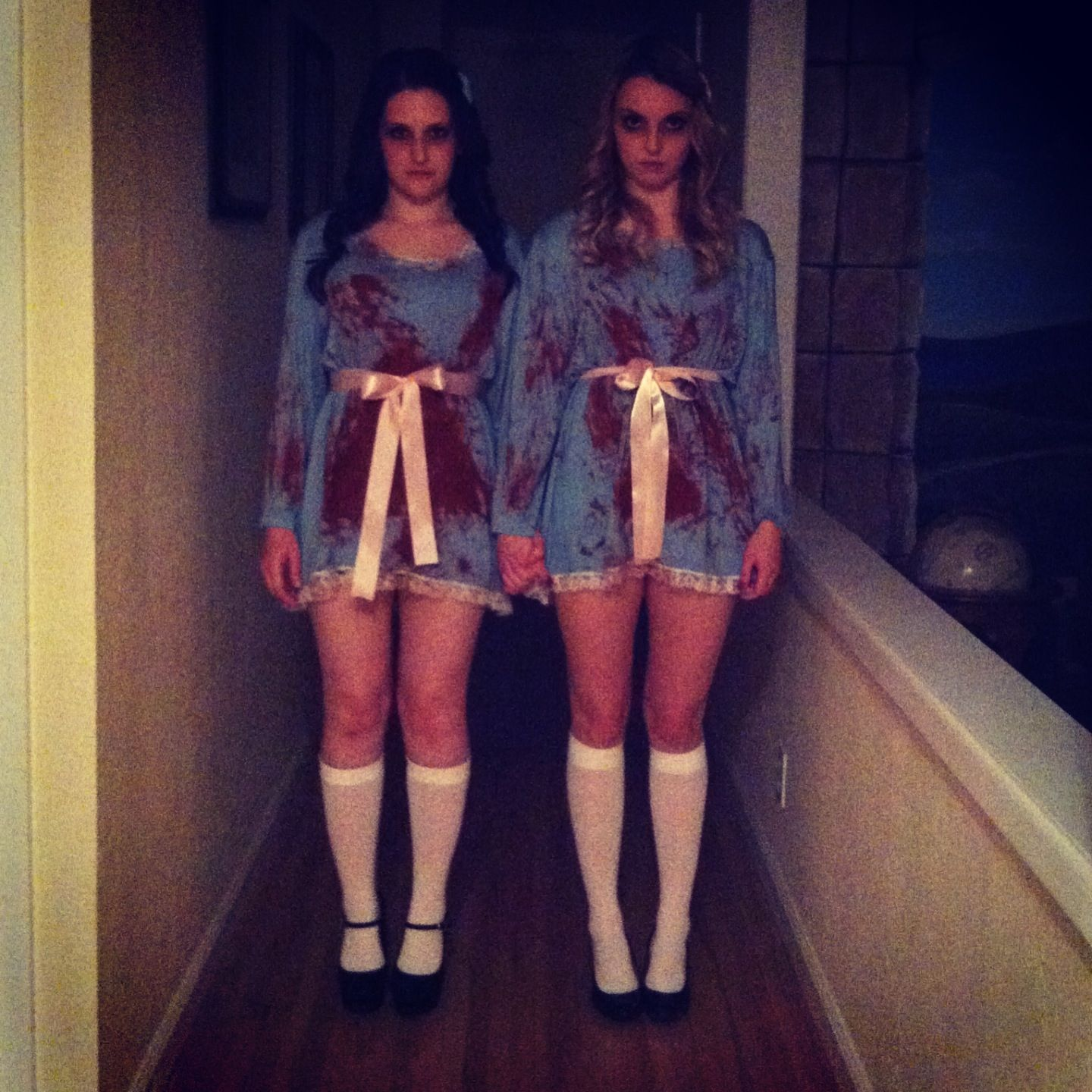 the shining twins costume Halloween Pinterest