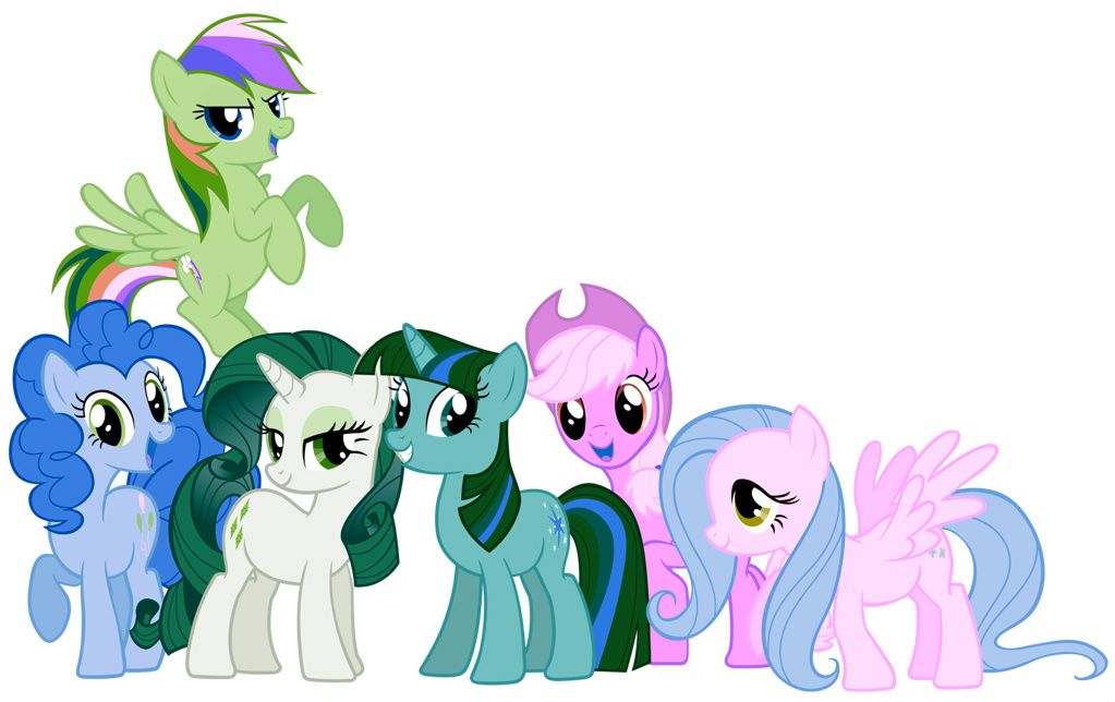 Mane 6 Ponies Hue Effects マイリトルポニー, トワイライト