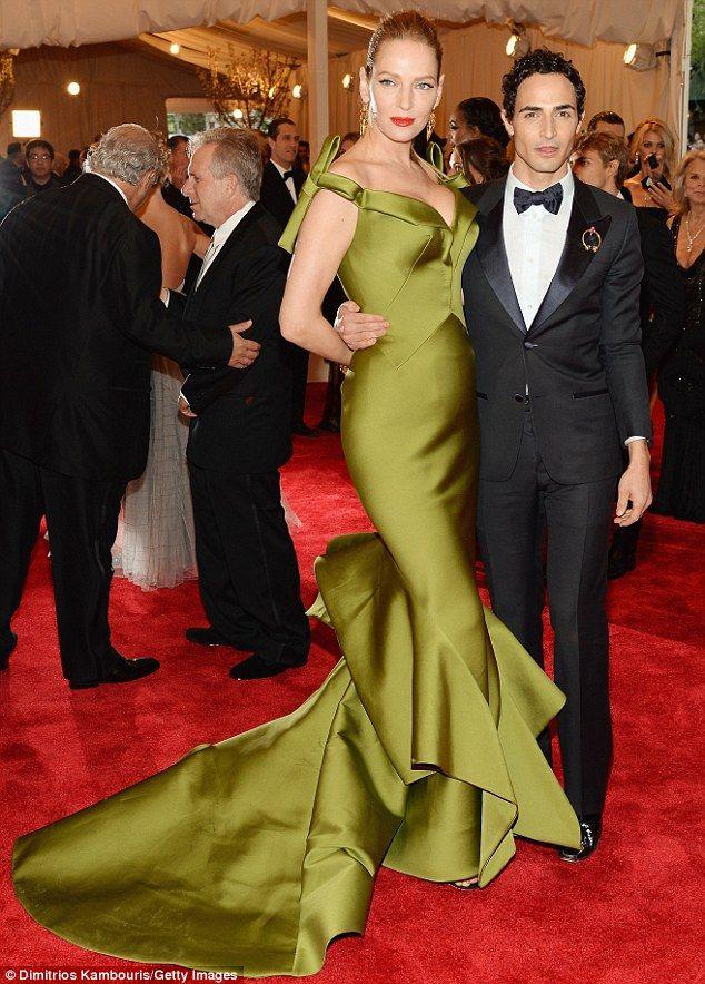 Zac And Uma Zac Posen Dress Fashion Red Carpet Fashion
