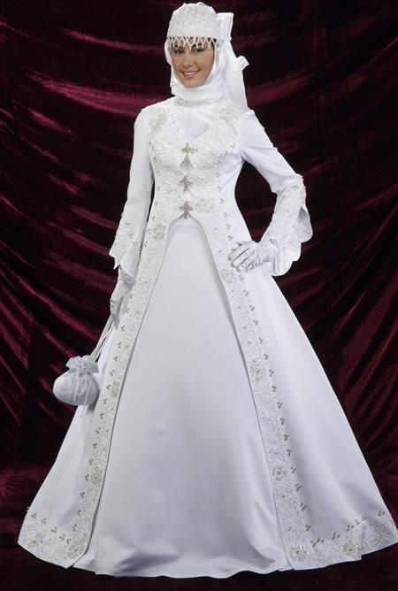 كولكشن صور فساتين زفاف محجبات موديلات محجبات لفساتين الافراح 2013 Long Sleeve Wedding Gowns Muslim Wedding Wedding Costumes