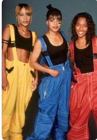 2ba7f175 TLC, TBoz, Left Eye, Chili   90s   Hip hop, Hip hop rap, 80s fashion