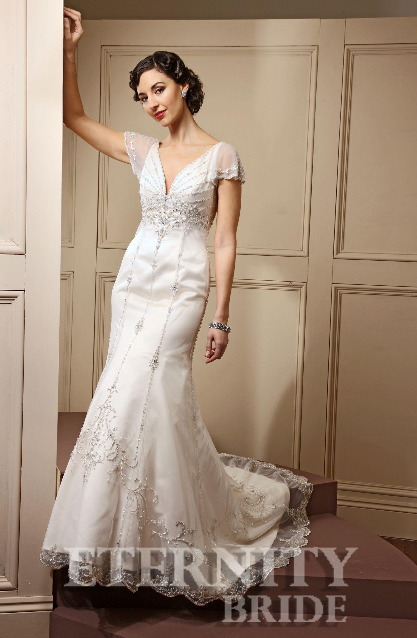 1930s style wedding dresses  Eternity bride   Toni bridal  Pinterest  Bridal dresses