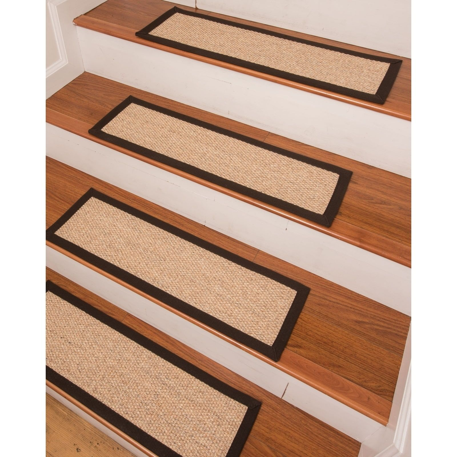 Best Edmond Sisal Carpet Stair Treads Set Of 13 13Pc 9 X 640 x 480