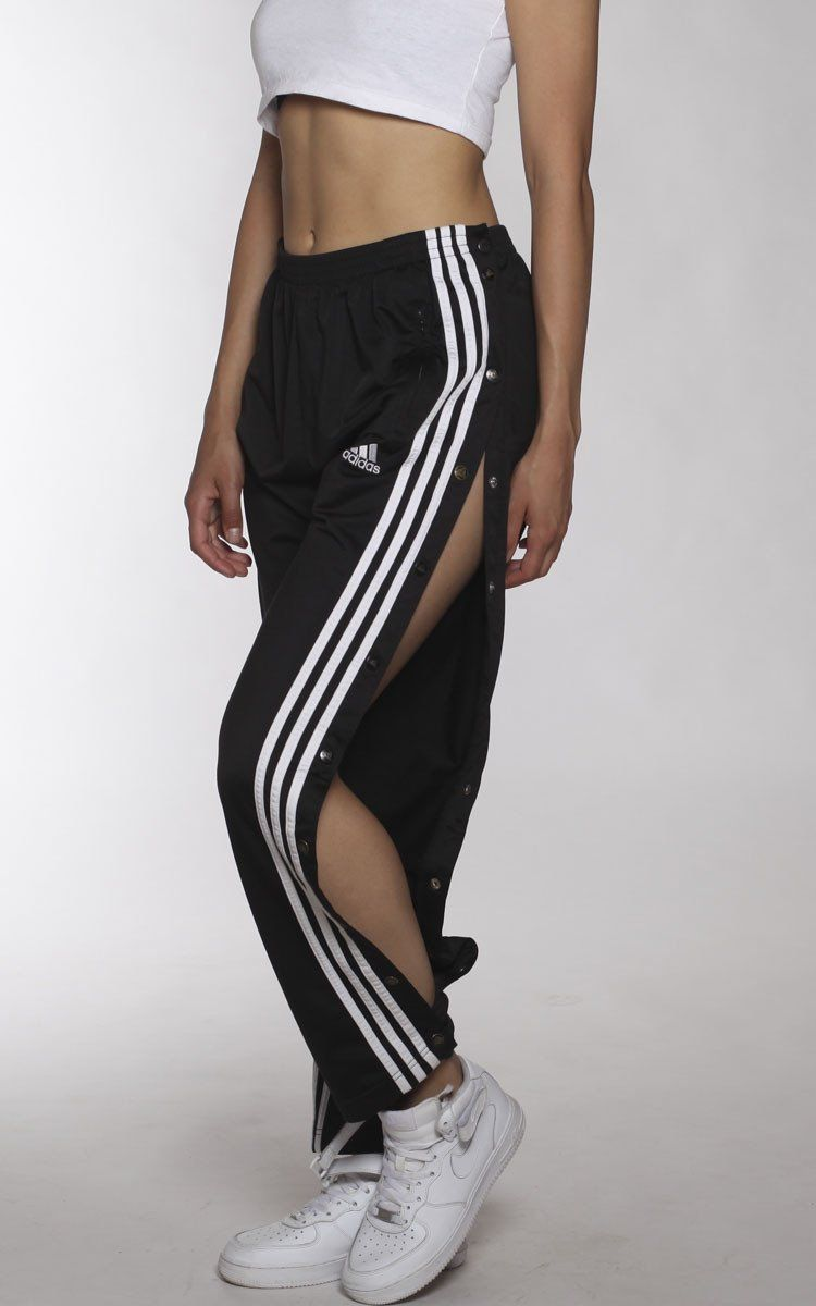 fcc000ea Vintage Adidas Tearaway Track Pants : Vendor: Frankie CollectiveType:  BottomsPrice: 65.00 Vintage Adidas tearaway track pants with snaps down  legs ...