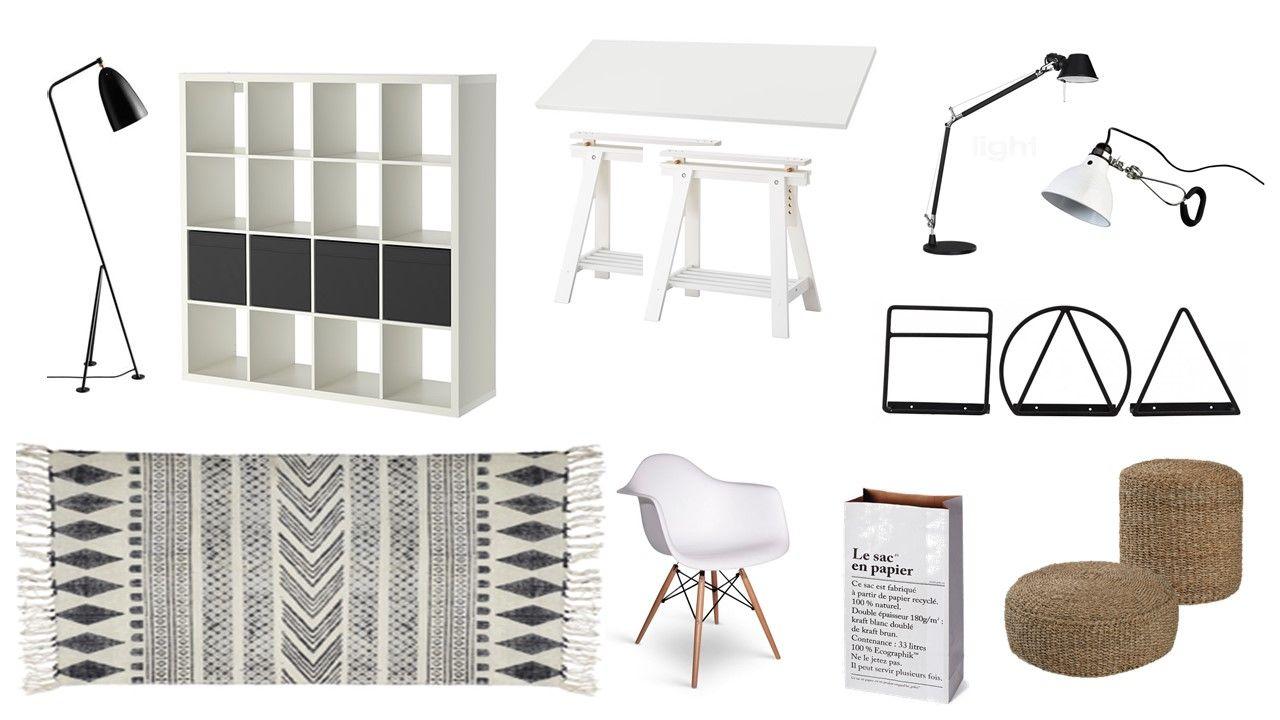 Qu Est Ce Qu Une Loggia une loggia aménagée en bureau | mobilier blanc, idée de