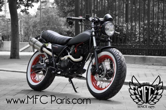 1 suzuki vanvan van-van two-14 army mfc design - préparation motos