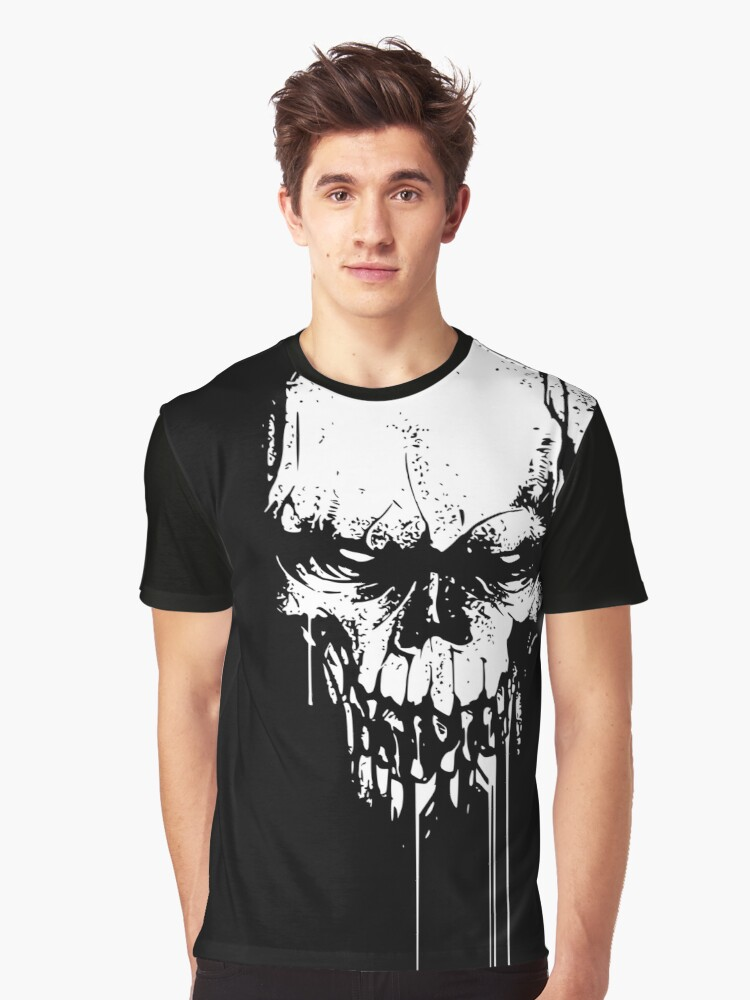 Skull Head – Horror – Helloween Grafik Tshirt