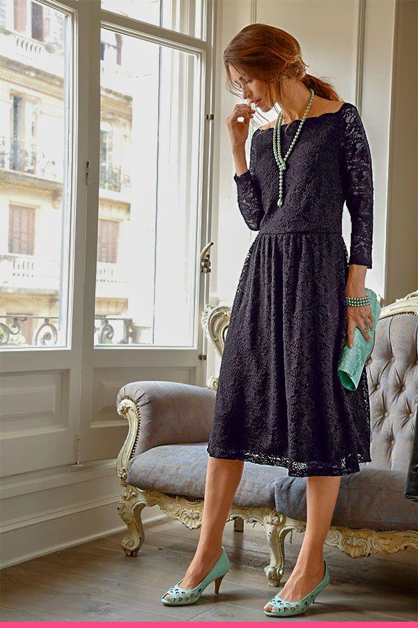 Photo of Julklänning med spets