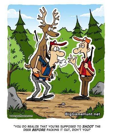 Hunting Birthday Pictures : hunting, birthday, pictures, Hunting, Cartoons, Graphic, Funny, Pics,, Season,, Humor