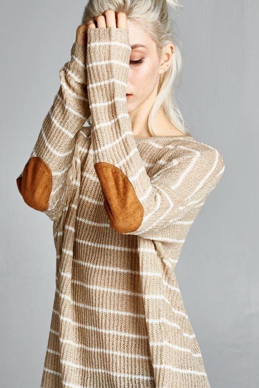 Stadium Stripe Sweater - Restock Alert!