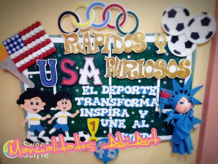 Inspiracion Para Olimpiadas Escolares Pancartas Modelos