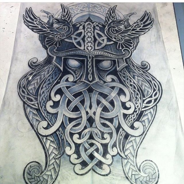 Artist ig deano robertson amazing sketch for a tattoo for Ravens face tattoos