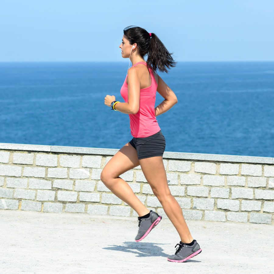 Get Ripped While Running: 470-Calorie-Burning and Toning Workout