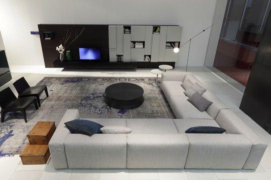 Déco salon gris  les plus belles photos Côté maison, Inspiration