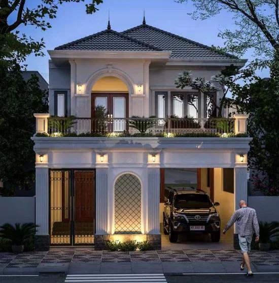 Desain Rumah 2 Lantai Home Fashion Desain Rumah Rumah