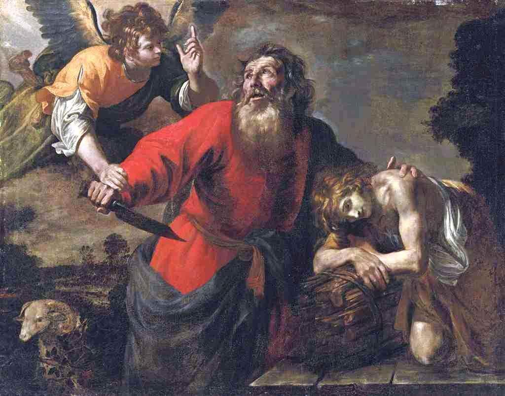 Sacrifice D Abraham Giovanni Andrea De Ferrari 1598 1669 Abraham Painting Giovanni