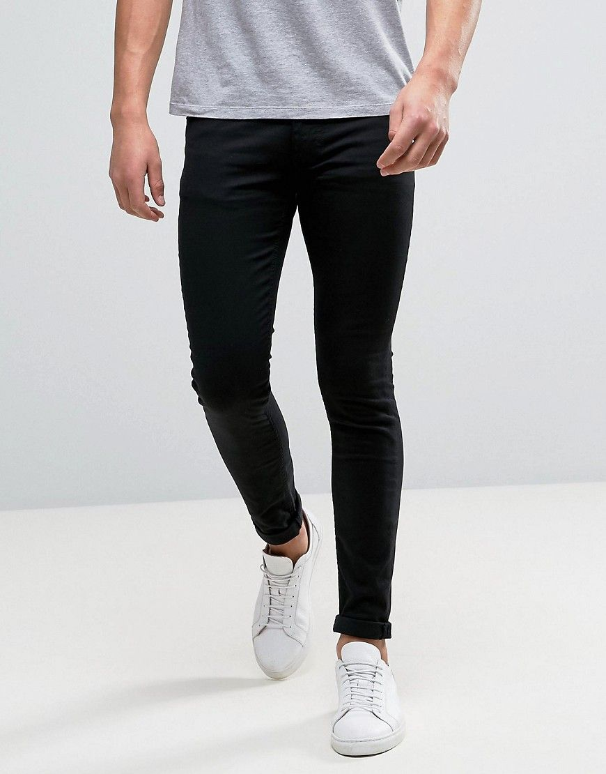 Skinny Fit Jeans - Black Kiomi High Quality Cheap Price Up To Date Original Cheap Online jYHGE