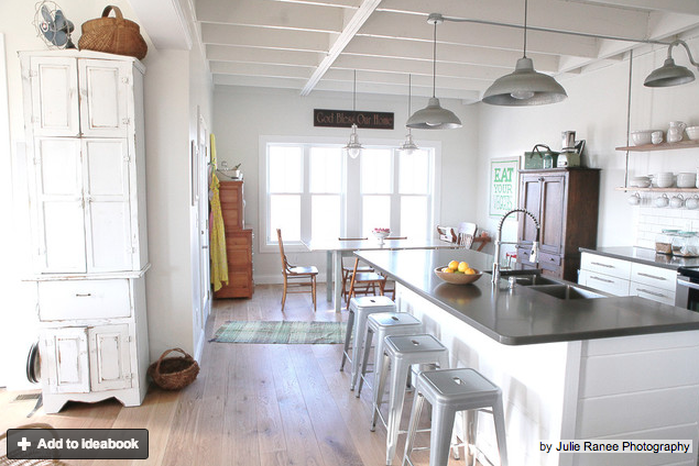 I Really Like The Look Of The Exposed Electrical Conduit Against The White  Washed Walls And