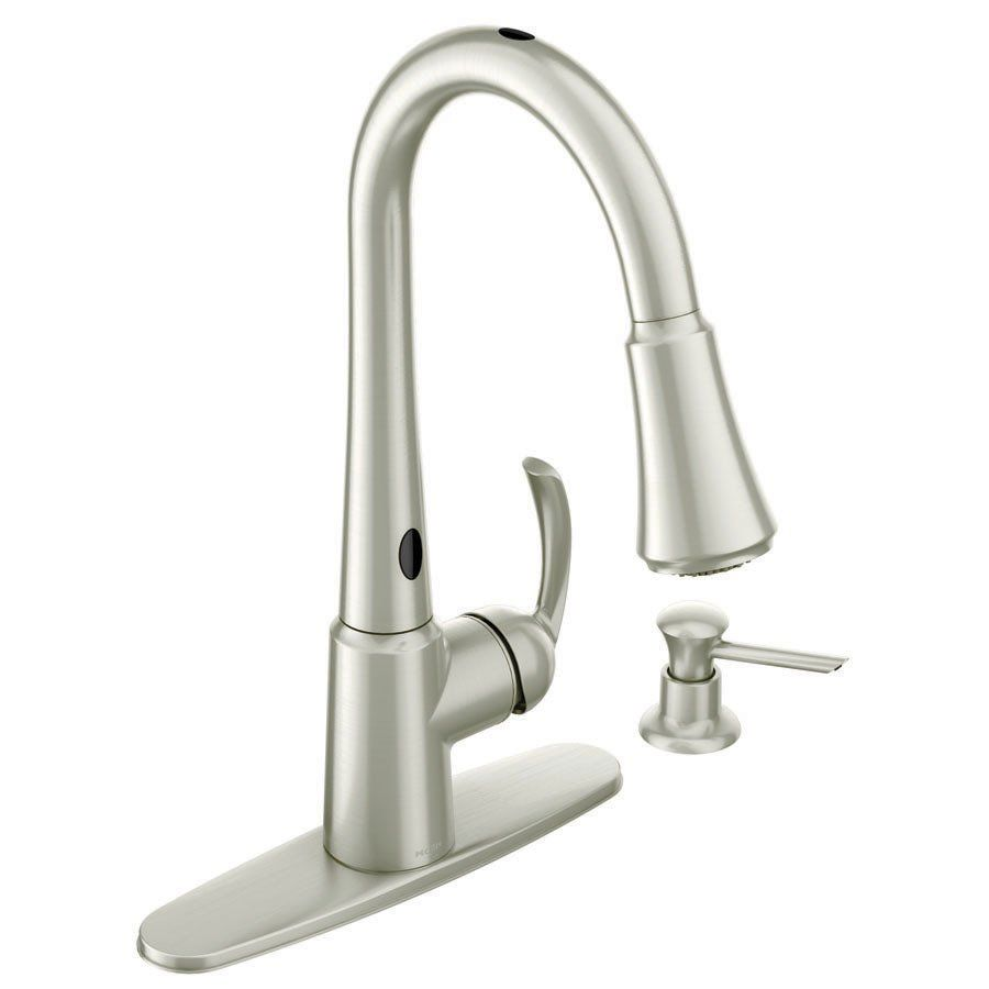No Touch Faucet I Want With Images Touchless Kitchen Faucet