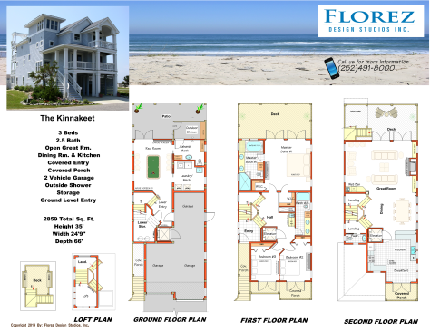 The Kinnakeet Southern Shores Nc House Plans Kitty Hawk Nc House Plans Corolla Nc House Plans Nags H Beach House Plans Elevated House Plans Coastal Homes