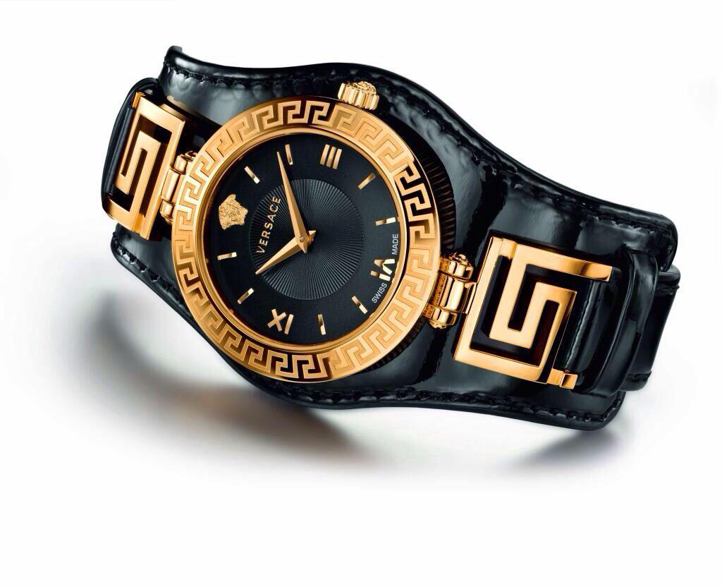 versace watch men s pre owned gianni signature gold medusa versace men s watch