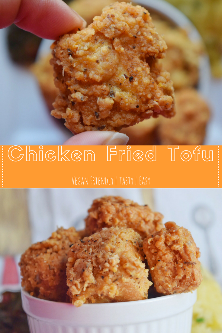 Chicken Fried Tofu I Can You Can Vegan I Can You Can Vegan Chicken Fried Tofu Recipe Vegan Soul Food Tofu Recipes Vegan Vegan Dishes