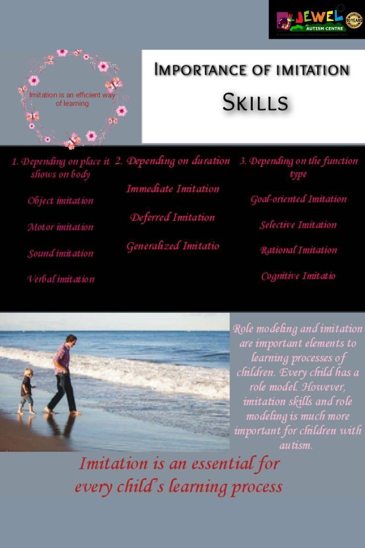 Importance of imitation skills autismawareness