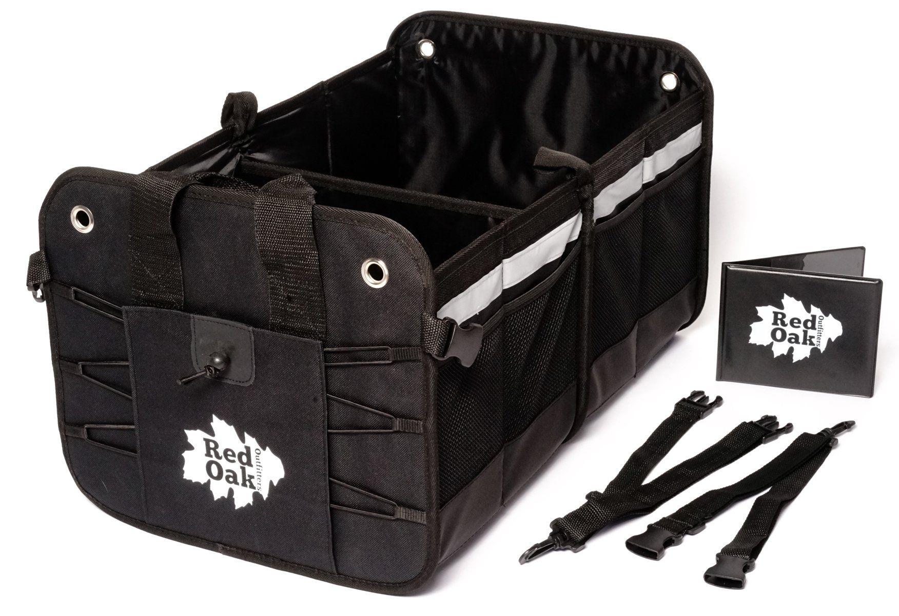 Premium Car Trunk Organizer Foldable Cargo Container Sturdy