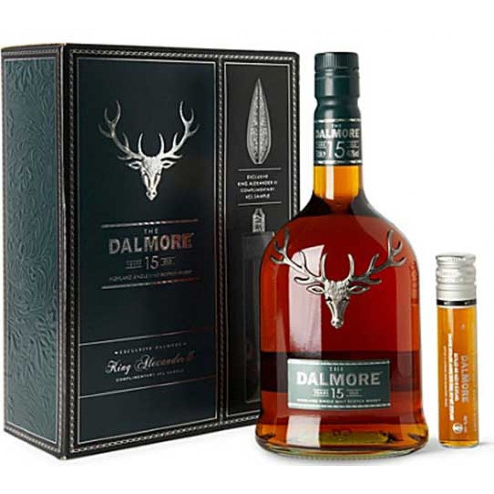Caskers Selection: The Dalmore 15 Year Old Highland Single Malt ...