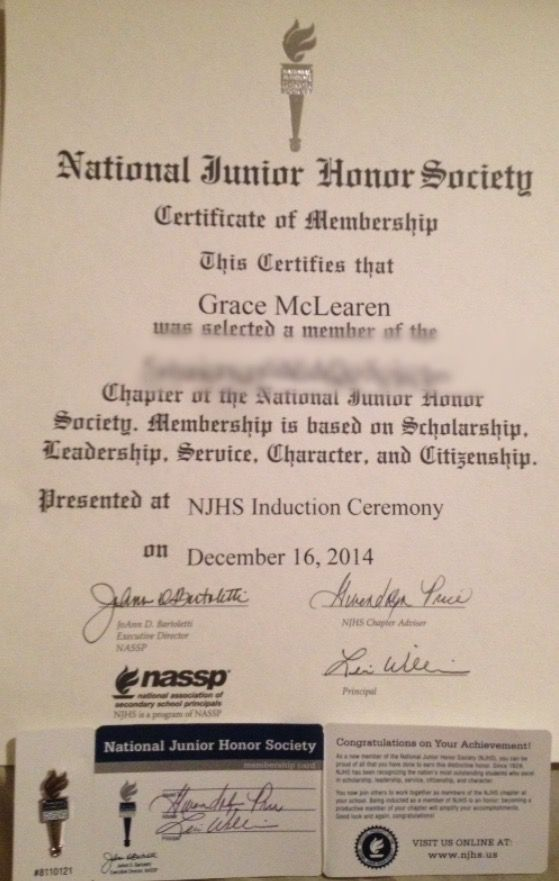 I Am Officially In The National Junior Honor Society Essay Ideas National Junior Honor Society Essay