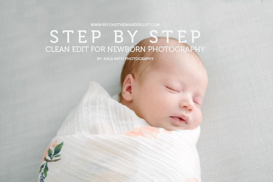 Lifestyle Newborn Photography Before and After Edit ...
