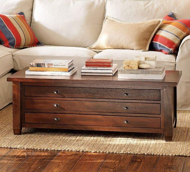 Apothecary Table With Long Drawers Coffee Table Coffee Table