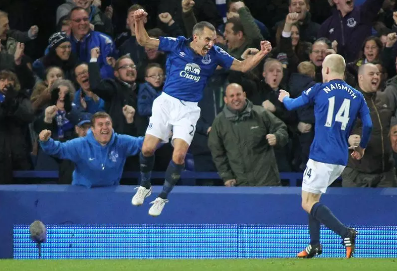 FOCUS ON: How Leon Osman marked his 400th Everton ...
