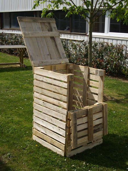 recyclage des palettes 07jpg 450 600 pixels - Fabriquer Un Composteur En Bois Avec Des Palettes