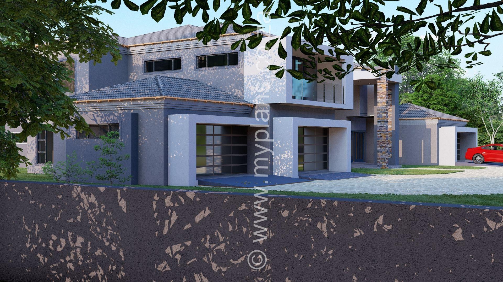 6 Bedroom House Plan Mlb N01 6 Bedroom House Plans House Plans South Africa House Plans