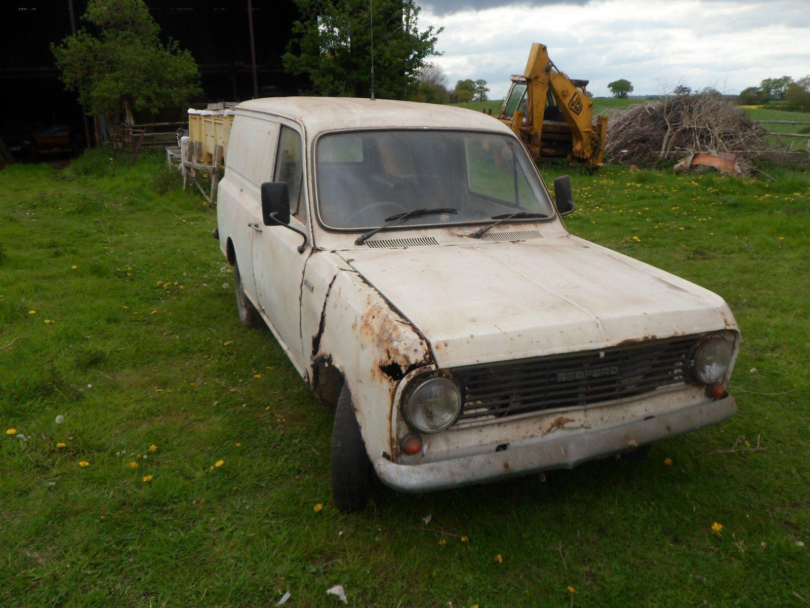 Bedford HA130 Viva Van Barn Find Ex Severn Trent