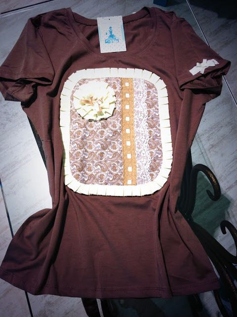 18678929a Lovely Sisters: Camisetas Customizadas para Mi Vestidor Azul ...